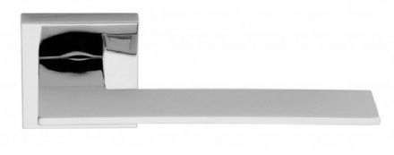 Frascio 1500/50Q/PCP Blade Door Handle On Square Rose Polished Chrome